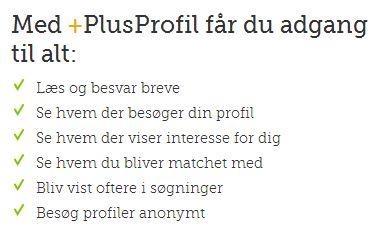 Dating.dk Plusprofil