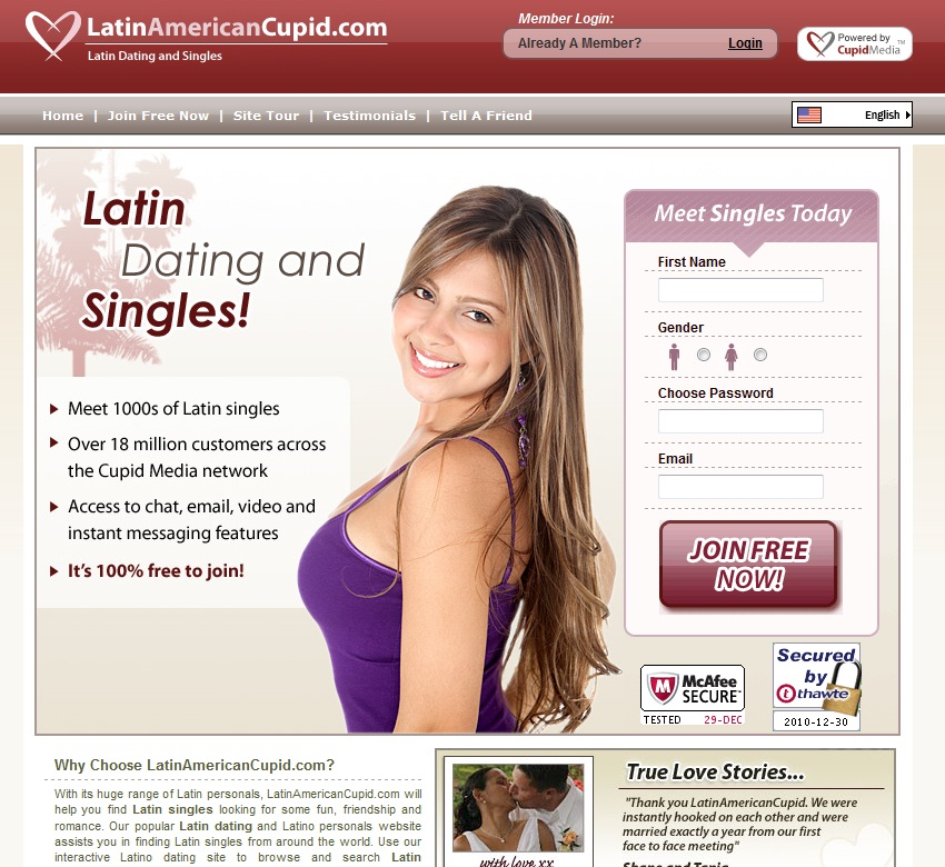 Latin Dating & Singles at
