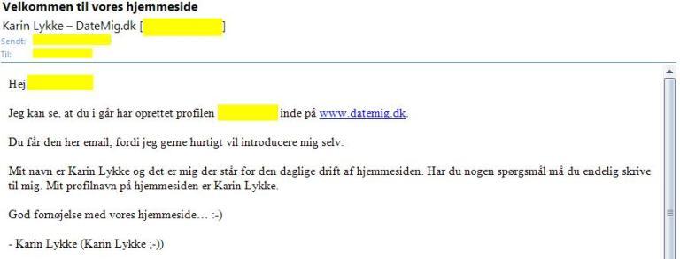 Velkommen til vores hjemmeside: DateMig.dk