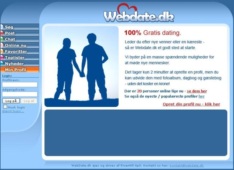 datingsider for seniorer Helsingør